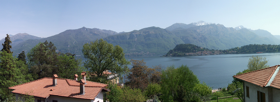 Breathtaking views over Bellagio and the lake Como